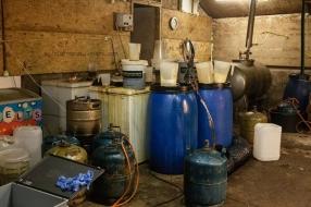 Bewoner opgepakt van huis in Mill waar drugslab werd gevonden