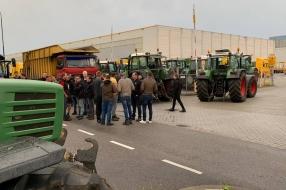 Boerenprotesten met tractoren worden niet verboden, beslissen de Veiligheidsregio's