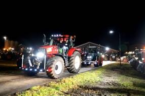 Honderden boeren aangekomen in Den Haag om actie te voeren