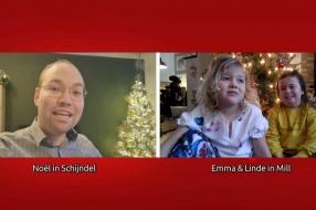 Lind (5) zit al maanden in thuisquarantaine met haar zus: 'Ze heeft een ziek hartje'