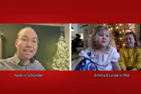 Linde (5) zit al maanden in thuisquarantaine met haar zus: 'Ze heeft een ziek hartje'