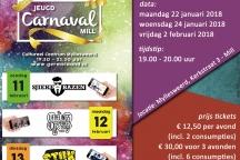 jongerenbals Carnaval Mill Myllesweerd, Stationstraat