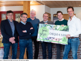 5.000 euro voor Smaakcentrum Land van Cuijk
